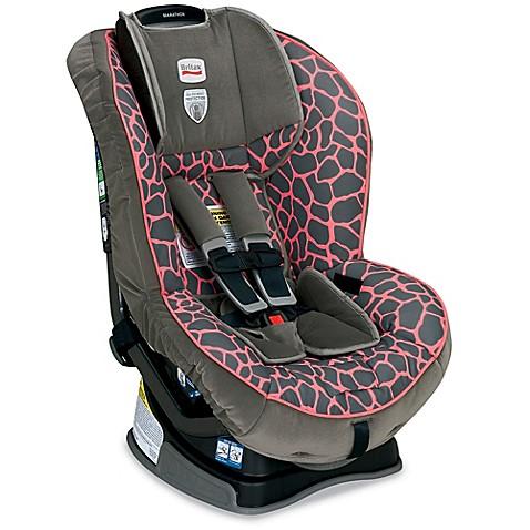 BRITAX Marathon™ XE (G4) Convertible Car Seat in Pink Giraffe - Bed ...