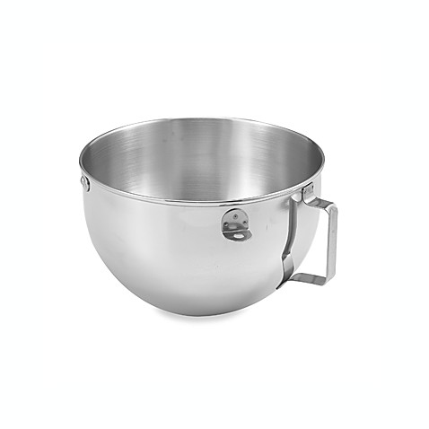 Kitchenaid 174 5 Quart Polished Bowl With Flat Handle For 5