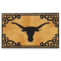 University of Texas Coir Fiber Door Mat