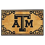 Texas A&M Coir Fiber Door Mat