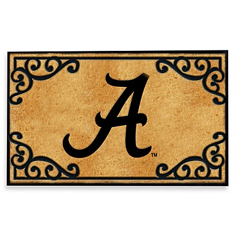 University Of Alabama Coir Fiber Door Mat Bed Bath Amp Beyond
