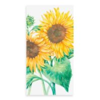 16-Count Sunflower Guest Towels