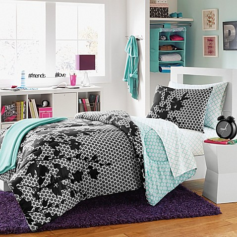 Serafina Reversible Dorm Comforter Set Bed Bath Amp Beyond