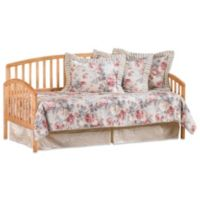 Hillsdale Carolina Daybed with Suspension Deck and Roll-Out Trundle in Country Pine