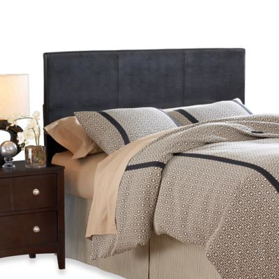 buy faux leather headboard from bed bath  beyond, Headboard designs