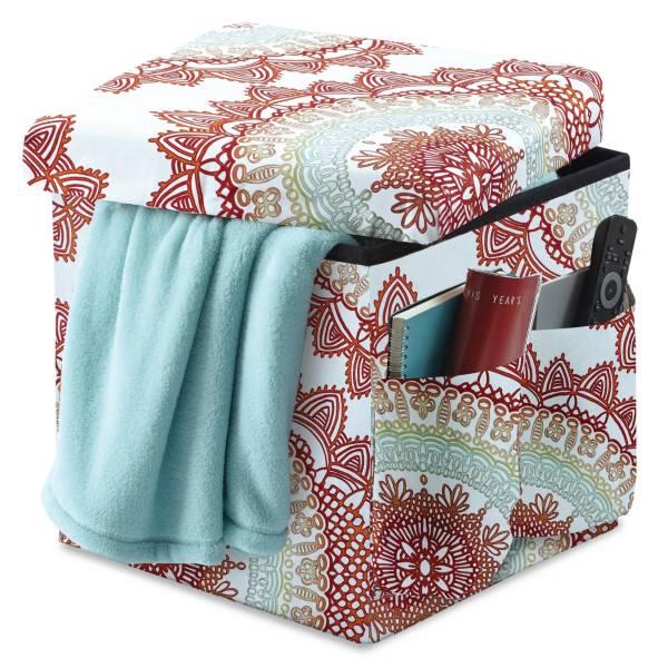 Product Image for Anthology™ Folding Storage Ottoman 1 out of 2 - Anthology™ Folding Storage Ottoman - Bed Bath & Beyond