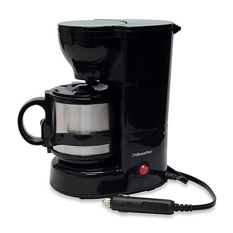 Roadpro 174 12 Volt Coffee Maker With 16 Ounce Metal Carafe