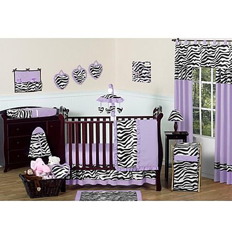 Purple Crib Bedding