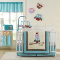 Laugh, Giggle & Smile Spotty Owls 10-Piece Crib Bedding Set