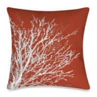 19-Inch Outdoor Throw Pillow in Coastal Coral 2