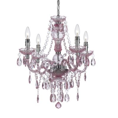Buy Pink Chandeliers from Bed Bath & Beyond