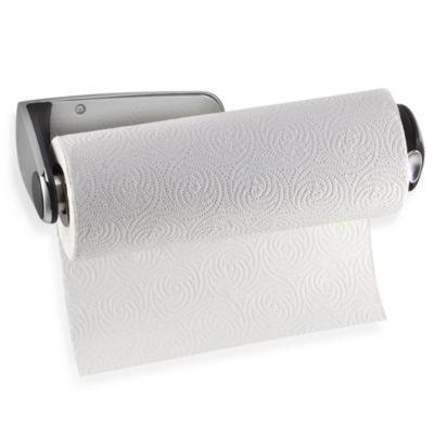 buy wall mount towel holder from bed bath beyond. Black Bedroom Furniture Sets. Home Design Ideas