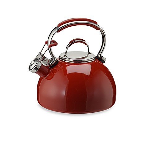 Bed Bath Beyond Red Tea Kettle