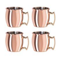 Oggi™ Mini Moscow Mule Mug Shots (Set of 4)