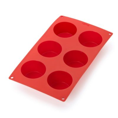 Lékué Silicone 6-Cup Muffin Pan