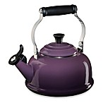 Le Creuset® 1.8-qt.  Whistling Tea Kettle in Cassis
