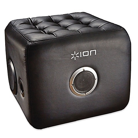 Buy Ion 174 Sound Lounge Bluetooth 174 Ottoman Speaker In Black