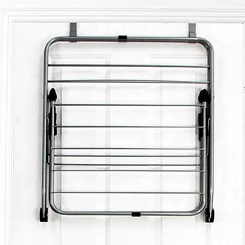 Samsonite® Deluxe Over The Door Folding Steel Dryer Rack