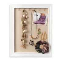 Medium Jewelry Frame in White