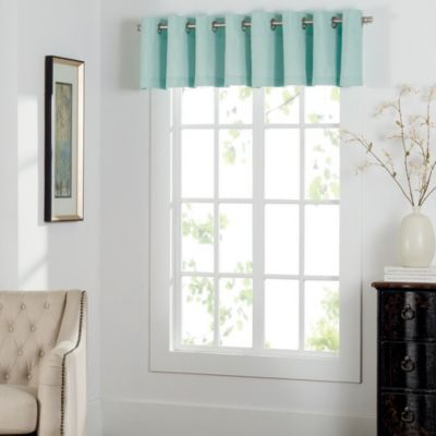 Attractive Buy Mint Green Valance from Bed Bath & Beyond QP46