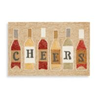 Frontporch Cheers 2-Foot 6-Inch x 4-Foot Indoor/Outdoor Door Mat