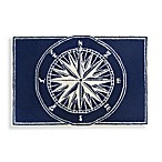 Trans-Ocean Compass 20-Inch x 30-Inch Front Porch Accent Rug