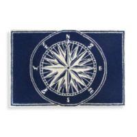 Trans-Ocean Compass 20-Inch x 30-Inch Front Porch Door Mat