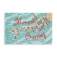 Frontporch Mermaid Crossing 2-Foot x 3-Foot Door Mat