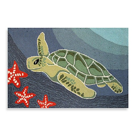 Trans Ocean Frontporch Sea Turtle Indoor Outdoor Accent