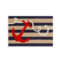 Trans-Ocean 20-Inch x 30-Inch Frontporch Anchor Door Mat
