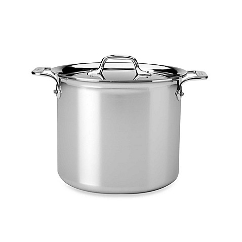 all clad stainless steel covered stock pots bed bath