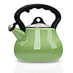 Remedy® Lovely Lady 2-Quart Porcelain Enamel Tea Kettle in Green