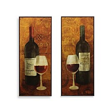 Wine Wall Decor vin rouge wine wall art - bed bath & beyond