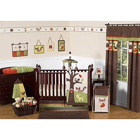 Sweet Jojo Designs Forest Friends Crib Bedding Collection