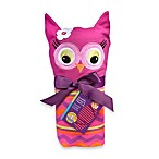 Sozo® Owl Swaddle Blanket and Cap Set