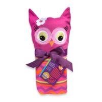 Sozo® Owl Swaddle Blanket and Cap Set