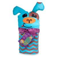 Sozo® Chevron Puppy Swaddle Blanket and Cap Set