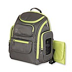 Jeep® Perfect Pockets Backpack Diaper Bag in Grey