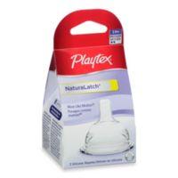 Playtex® 2-Pack Medium Flow NaturaLatch® Nipples