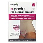 Upspring C-Panty Small/Medium High Waist C-Section Recovery Panty in Nude