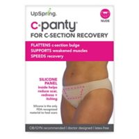 Upspring C-Panty Medium Classic Waist C-Section Recovery Panty in Nude