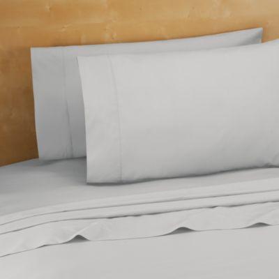100 cotton king sheet set in silver