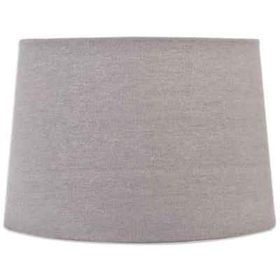 Mix & Match Large 15-Inch Sparkle Drum Lamp Shade in Grey