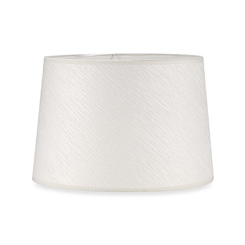 Mix match large 15 inch crinkle paper hardback drum lamp for Wide drum lamp shade