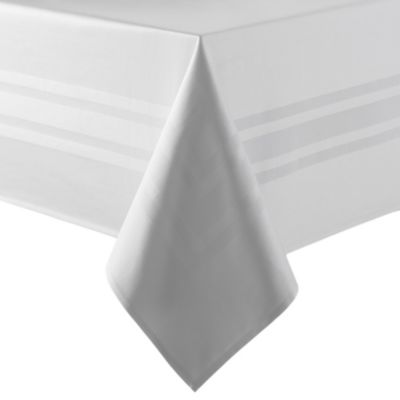 Buy 70 inch x 70 inch white tablecloth from bed bath beyond for Tablecloth 52 x 120