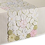 Sam Hedaya Springtime Cutwork 36-Inch Table Runner