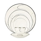 Noritake® Platinum Wave 5-Piece Place Setting