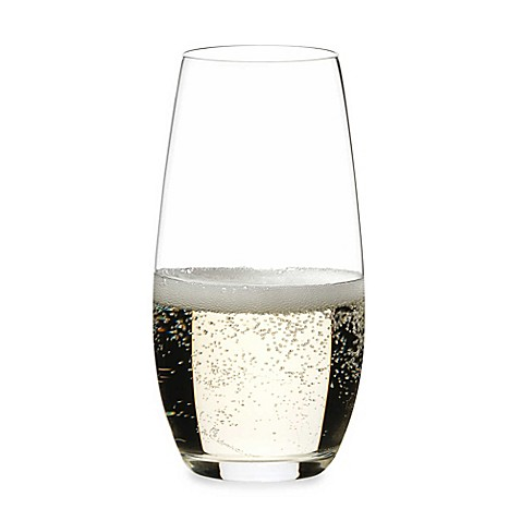 Riedel O Stemless Champagne Flutes Set Of 2 Bed Bath