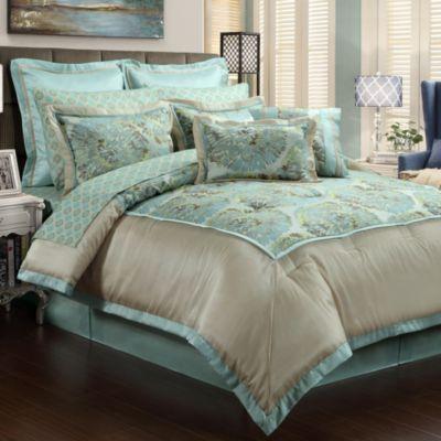 Metropolitan 12 Piece Queen Comforter Set