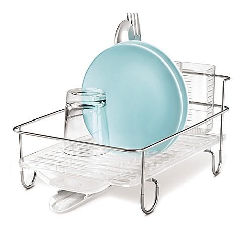 Simplehuman 174 Mini Wire Frame Dish Rack Bed Bath Amp Beyond